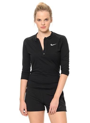 Yakası Fermuarlı Sweatshirt-Nike